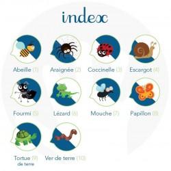 Les petites bêtes, Imagier de Langue des Signes